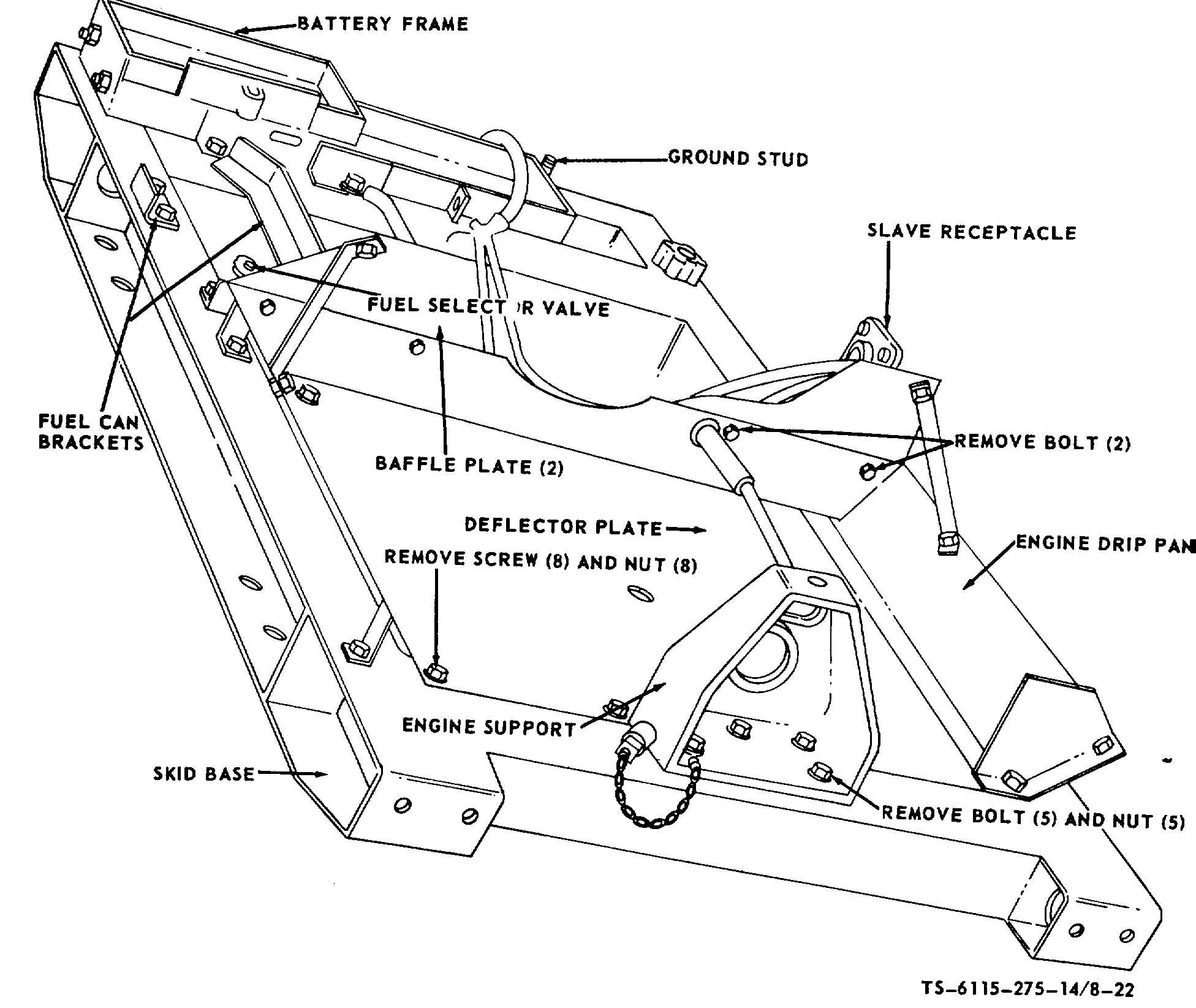 drain pan base plate